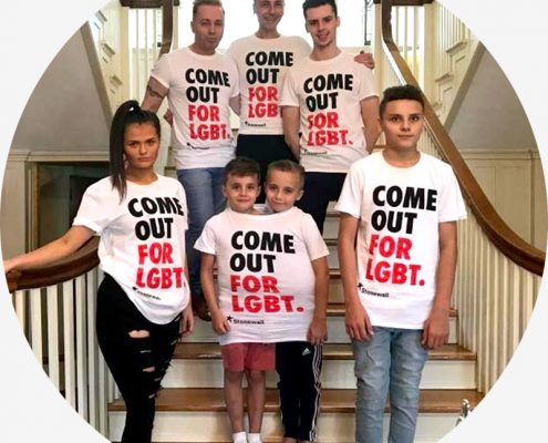Watch The Drewitt-Barlow Family Come Out For LGBT