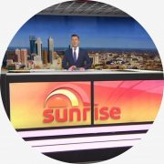 2013 Australian Morning TV With Barrie & Tony Drewitt-Barlow