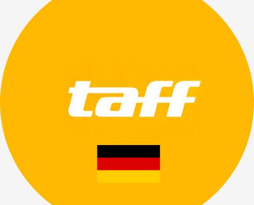 Saffron Drewitt-Barlow On Taff German TV