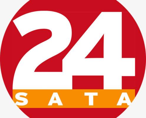 24 sata logo